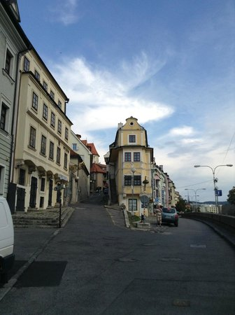 Bratislava Old Town: In a way that you didn't expect