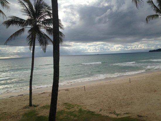 Outrigger Laguna Phuket Beach Resort: the view from balcony