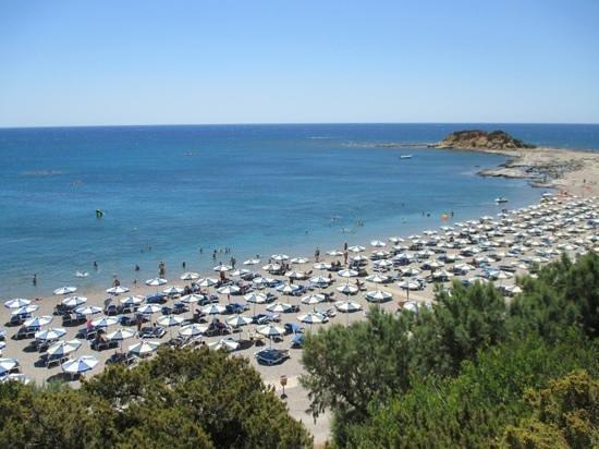 Rodos Princess Beach Hotel: Spiaggia