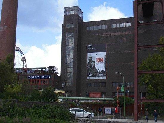 Zeche Zollverein Essen: Mischanlage der Kokerei auf Zollverein Geb C 70