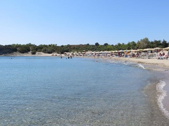 Rodos Princess Beach Hotel: Glystra beach
