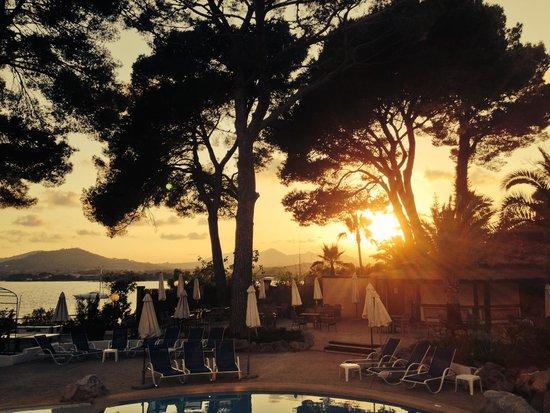 Hipotels Eurotel Punta Rotja & Spa: Sunset