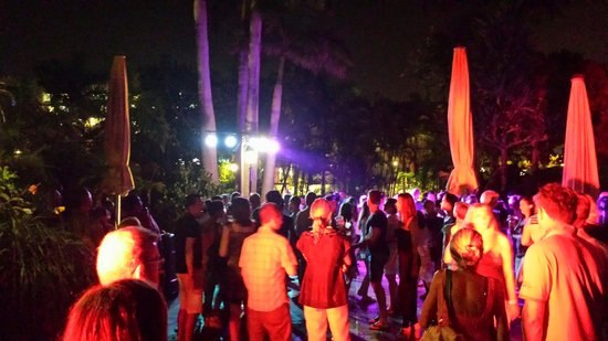 Park Club Europe Hotel: Pull party