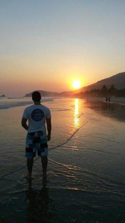 Juquei Beach: Contemplando o astro rei