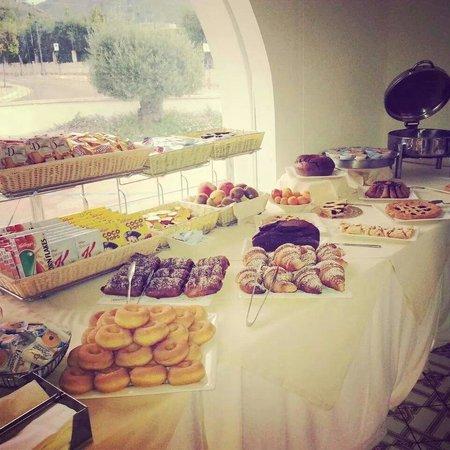Ganimede Hotel: Buffet breakfast