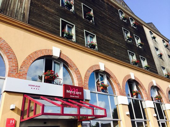 Mercure Honfleur: Esterno hotel