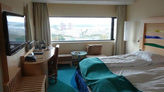 Radisson Blu Scandinavia Hotel: Chambre 1708