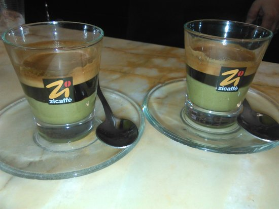 Bar du Marinaru : CAFFè AL PISTACCHIO