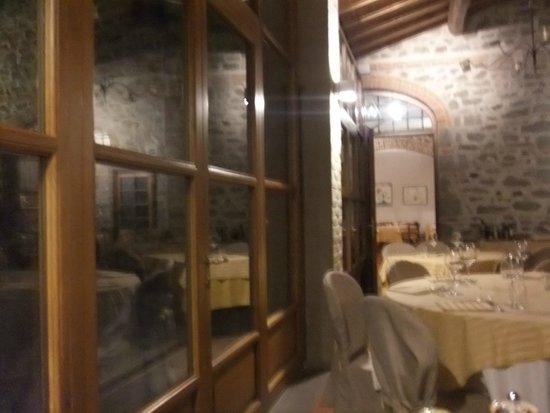 Il Castello di Gargonza : Hotel Restaurant