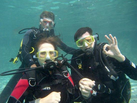 Dive2gether Crete : Sous l'œil avisé de notre instructeur!