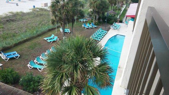 Ocean Dunes Resort & Villas: Ocean Dunes building pool