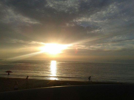 il tramonto da b&b anna!!!