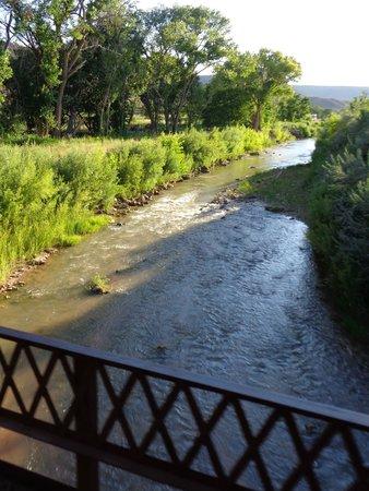 Zion Adventure Company: on narrow bridge
