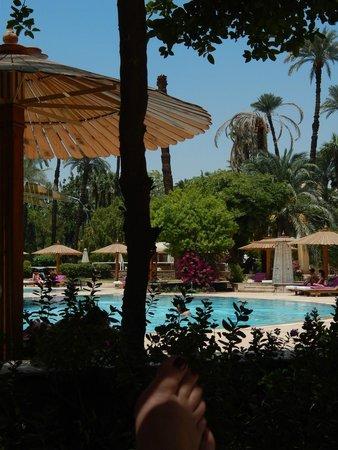 Pavillon Winter Luxor: missing this pool