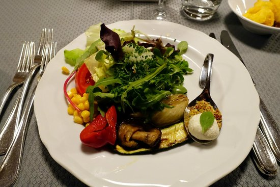 Hotel Christiania: Salad buffet