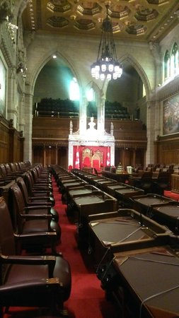 Colline du Parlement : Interior of Parliament Hill in its grandeur.