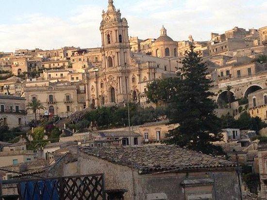 Hotel Relais Modica: la vista dalla nostra stanza