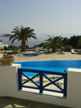 Faros Resort : Από το χώρο του πρωινού