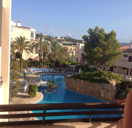Plazamar Serenity Resort: View from balcony floor 2