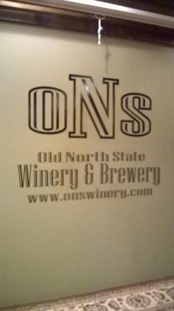 Old North State Winery and Brewery : Old North State