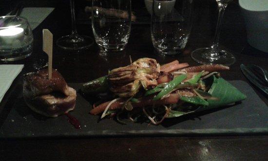 L'Endroit : foie gras sur thon