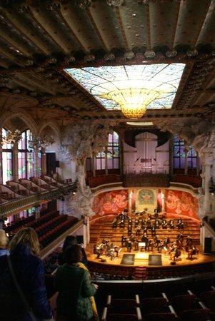 Palais de la Musique Catalane (Palau de la Musica Catalana) : musica catarana