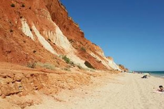 Plage de Falesia : La spiaggia