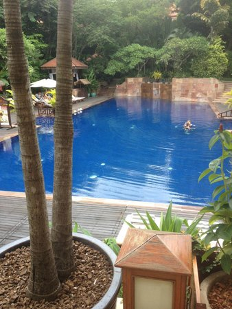 Victoria Angkor Resort & Spa: Pool view