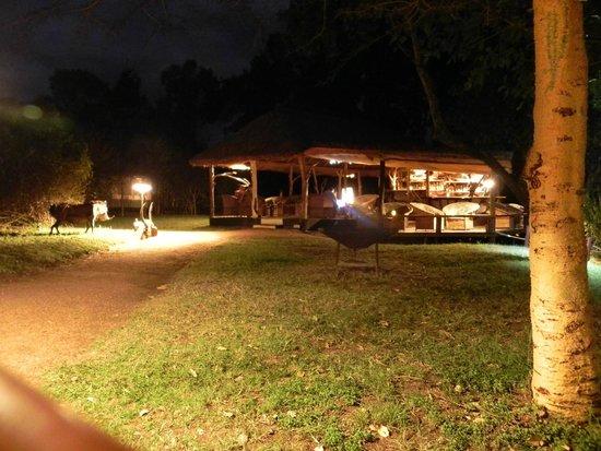 Olumara Camp: Il ristorante
