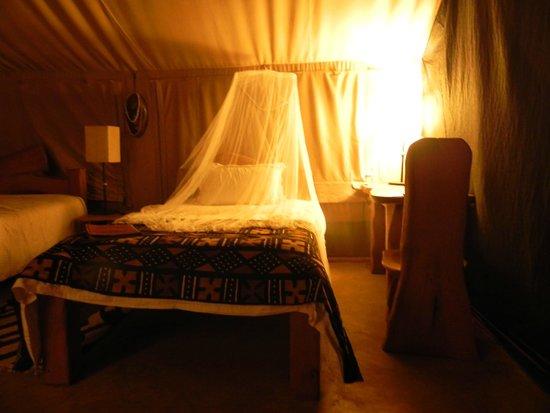 Olumara Camp: la tenda