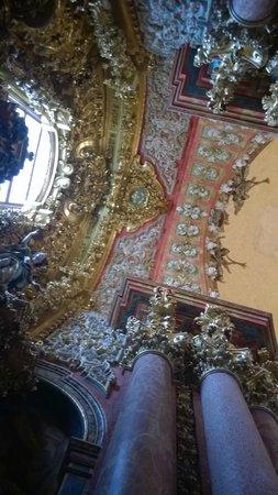 """Monasterio de Santa Maria de El Paular: """"Прозрачная"""" (скиния)"""