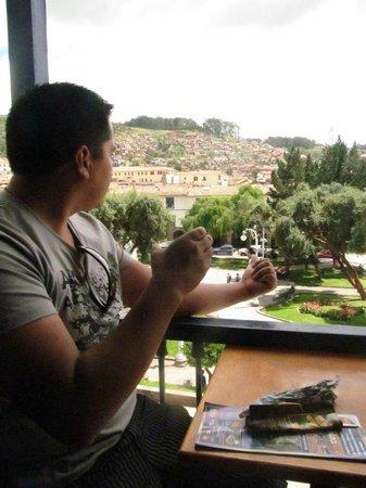 ChocoMuseo: Buena vista a la Plaza Regocijo
