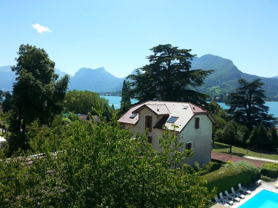 Hotel du Lac : View from my hotel room.