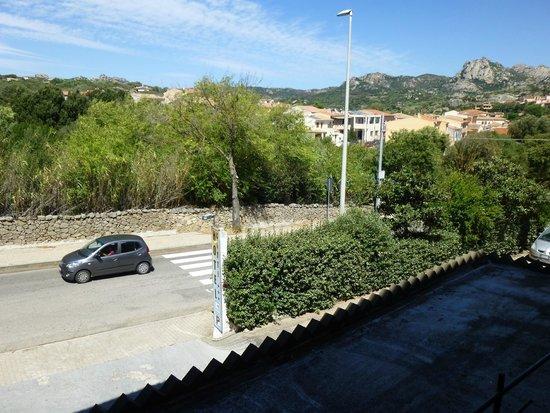 Hotel Citti: Panorama dalla nostra finestra