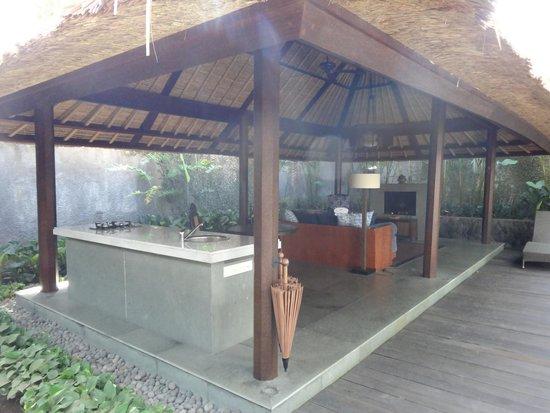 Kayumanis Ubud Private Villa & Spa : Livingroom