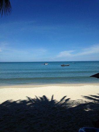 Anantara Rasananda Koh Phangan Villas: Toller feinsandiger Strand