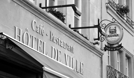 Restaurant Hotel de Ville