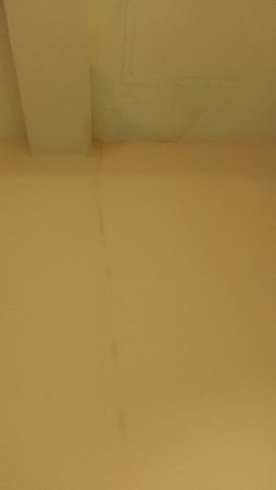 Thai Life Guesthouse: Leaking roof.