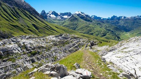 Lech, Αυστρία: Schichtungen