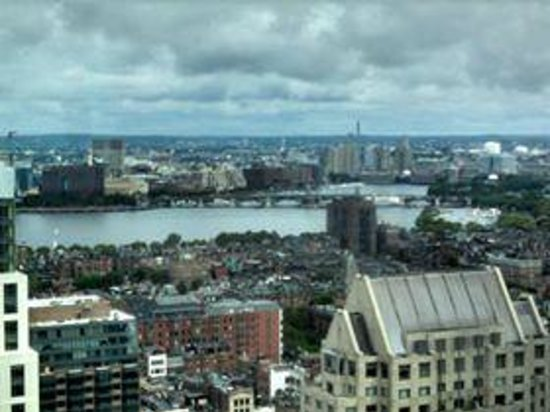 Boston Marriott Copley Place: view from our 33rd floor room
