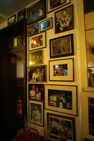 Apfelwein Wagner: lots of famous people had visited here