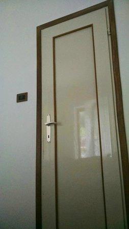 Eremita-Einsiedler: Porta del bagno - antica!