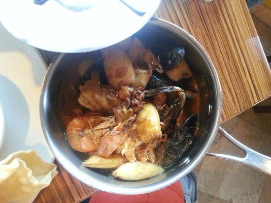 LB Seafood Bistro on the Bay: fish dish