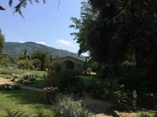 Relais Villa Baldelli: A breakfast with a view
