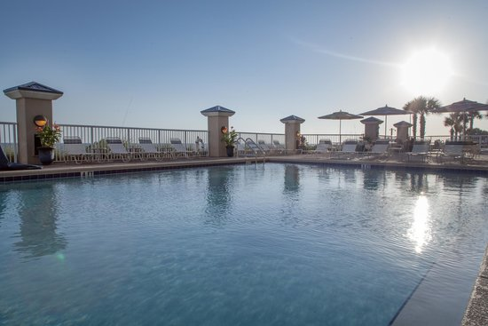 Holiday Inn Club Vacations Panama City Beach Resort: Outdoor pool