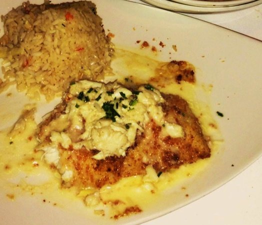 Chart House: Parmesan Encrusted Grouper , & Coconut Ginger Rice
