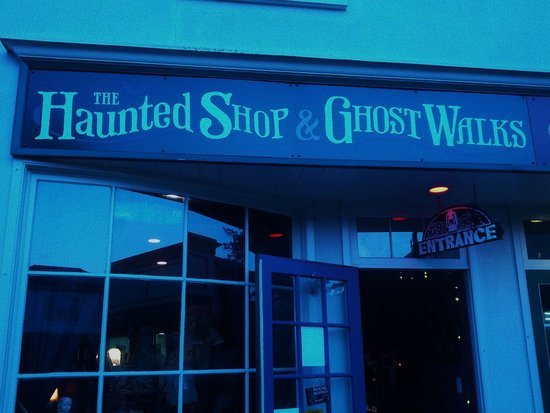 The Ghost Walks: Haunted shop and ghost walks