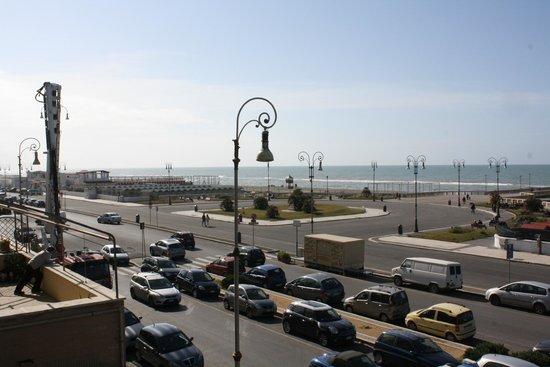 Hotel La Scaletta: Outside view from the hotel balcony