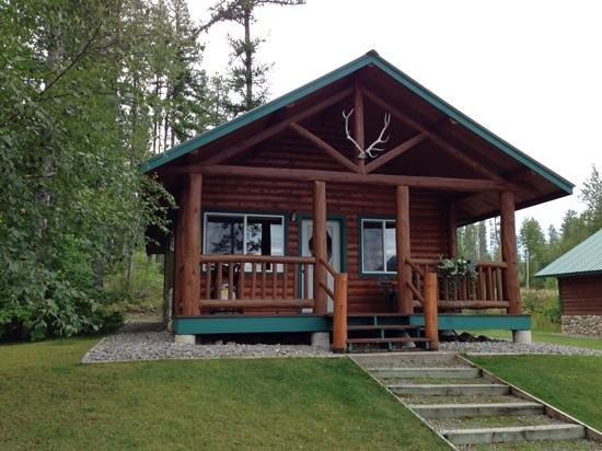 Glacier Outdoor Center: our cabin