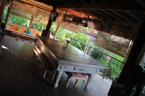 Green Lodge: sala esterna
